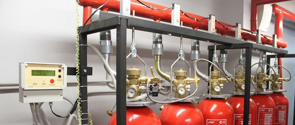 спринклерная система водяного пожаротушения